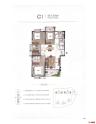 C1建面约139㎡四房两厅两卫双阳台